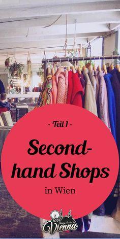 Ihr seid auf der Suche nach coolen Secondhand-Shops? Wir haben uns in zehn davon umgesehen und möchten sie euch kurz vorstellen. Schaut rein, trinkt sogar noch einen Kaffee dabei und lasst euch verleiten, einmal etwas anders einzukaufen. Lippizaner, Second Hand Shop, Two Hands, Vienna, Austria, Vintage Shops, Travel Guide, Things To Do, Road Trip