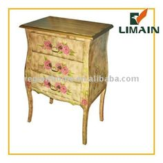 2011 Classic wooden hand painted china furniture