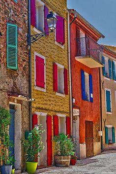 Colorful Collobrières, Fr.