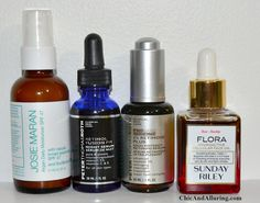 Anti-aging serum and oil