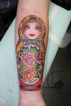 Matryoshka Doll Tattoo Images » Tattoo Ideas