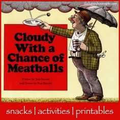 31 Days Of Read Alouds Cloudy With A Chance Meatballs