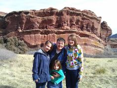 Red Rocks with the Girls Feb 2014