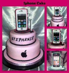 Iphone Cake  Cake by CakesbyGleibis