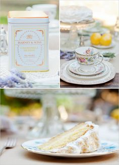 Personalized Tea Tin for Wedding Favors