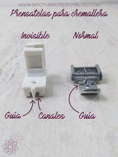 2 formas de coser una cremallera invisible – Nocturno Design Blog Design Blog, Fashion Books, Cute Dresses, Sewing, Zipper, Hacks, Pablo Neruda, Quilting, Album