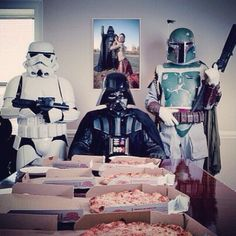 Come to the dark side, we have pizza.