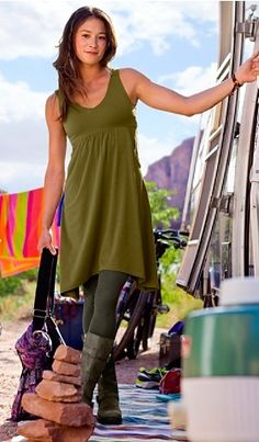 Another fall pick from Athleta. If you like this dress, all summer colors are now on sale.