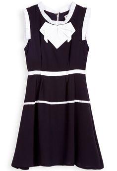 Vestido gasa-Negro EUR25.17