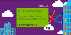 Azure Remote App Questions Answered