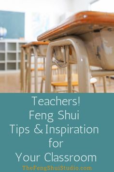 Feng Shui is a great resource for teachers. These 7 Feng Shui tips show you how to Feng Shui your classroom for a smoother, more balanced flow this school year. Feng Shui Desk, Feng Shui Studio, Feng Shui Bedroom, Feng Shui Basics, Feng Shui Principles, Feng Shui Tips, Feng Shui Energy, Teacher Resources, Home Remodeling
