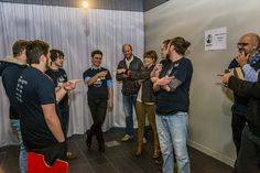 The Pitch Game, Half Baked at the Startup Weekend Saint-Brieuc (Brittany, France). Day 1