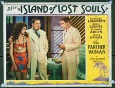 MovieArt Original Film Posters - ISLAND OF LOST SOULS (1932) 20316, $6,000.00 (http://www.movieart.com/island-of-lost-souls-1932-20316/)  This is a very rare lobby card from a seminal horror film.