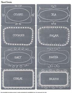 Minha Casinha Rosa: Labels - rótulos e etiquetas.