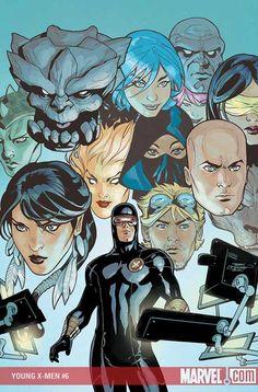 ArtVerso — Terry Dodson - Young X-Men