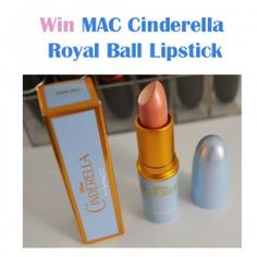 Win MAC Cinderella Royal Ball Lipstick ^_^ http://www.pintalabios.info/en/fashion-giveaways/view/en/3285 #International #MakeUp #bbloggers #Giweaway