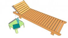 Lounge Chair Plans | MyOutdoorPlans | Free Woodworking Plans and Projects, DIY Shed, Wooden Playhouse, Pergola, Bbq