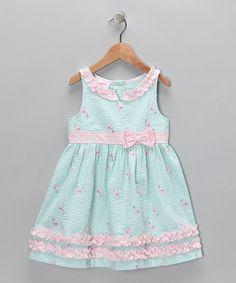 Gingham Flamingo Dress