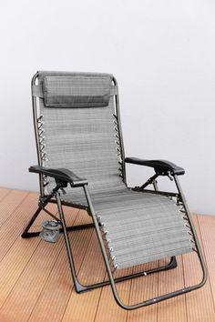 Relaxační lehátko (šedá) | Jena nábytek
