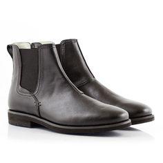 Bourgeois Boheme Noah Black Vegan Chelsea Boot #veganshoes #veganboots