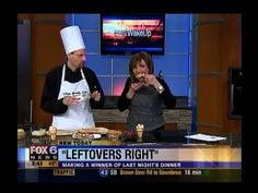 One of the funniest videos you'll ever see. A fake chef somehow gets on a Milwaukee morning show and fools everyone