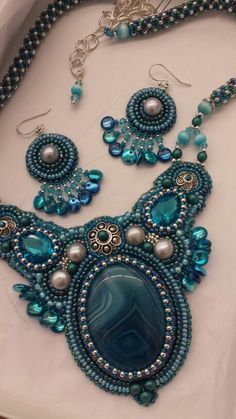 Bead embroidery  by Stephanie  Bancroft