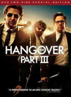 The Hangover Part III (DVD)-In the aftermath of the death of Alan's father, the wolf pack decide to take Alan to get treated for his mental issues. But things start to go wrong on the way to the hospital as the wolf pack is assaulted and Doug is kidnapped. Now they must find Mr. Chow again in order to surrender him to the gangster who kidnapped Doug in order to save him.
