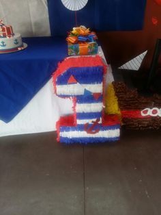 Cake, Desserts, Food, Nautical Party, Tailgate Desserts, Deserts, Food Cakes, Eten, Cakes