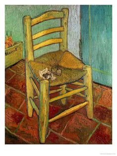 What do Van Gogh's Chairs tell us about? Vincent Van Gogh hoped for great things from his friendship with Paul Gauguin. Gauguin was a far better-known and more confident modern artist than Van Gogh,. Paul Gauguin, Vincent Van Gogh, Oil Canvas, Canvas Prints, Art Prints, Vans Pintados, Rembrandt, Henri De Toulouse-lautrec, Van Gogh Arte