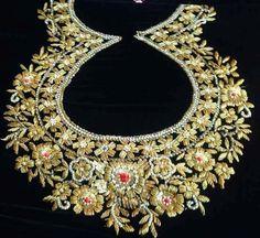 Indian Zardozi embroidery