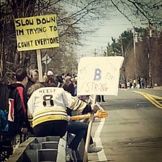 The 42 Best Signs From The Boston Marathon