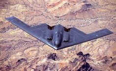 Stealth technology helps the big 52 meter wingspan of the Stealth Bomber look less like a big aircraft and more like a large bird. Stealth Aircraft, Stealth Bomber, Military Aircraft, Yb 49, Stealth Technology, 2 Spirited, Flying Wing, Us Air Force, Sacramento