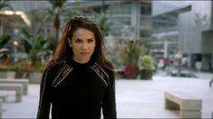 sweater tv maze black sweater lucifertv mazikeen mesh details jumper studded studs black jumper