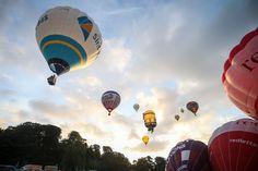 Bristol from above: Stunning photos from inside a balloon at Fiesta mass ascent - Bristol Post