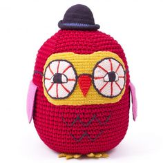 Junior Crocheted Owl