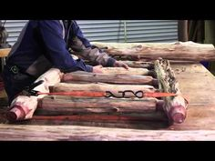 How to Build a Log Bed – Tutorial | Home Design, Garden & Architecture Blog Magazine
