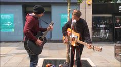 "BRADFORD BUSKER (Frankie Porter) & Kingsley George sing""You Can't Hide"""