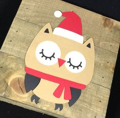 "Decorating your classroom with these ""Santa"" owls is the perfect addition to your owl themed classroom. These owls make a great door decoration as well. The owls are made from card stock and measure a"