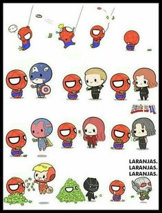 Nuuuuu all the monyes gone spiderman Marvel Jokes, Marvel Avengers, Hero Marvel, Chibi Marvel, Baby Avengers, Funny Marvel Memes, Marvel Art, Marvel Dc Comics, Superman Hero
