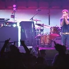 """""""Faithfull"""" live at Madison Square Garden in New York City on July 8, 2003. #PearlJam #MSG #NYC"""