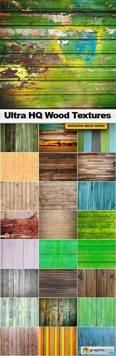 Wood Textures  25x JPEGs  stock images
