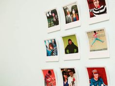 Polaroid Picture Frames
