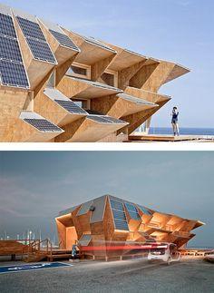 Endesa Solar Pavillion by IAAC | Inspiration Grid | Design Inspiration