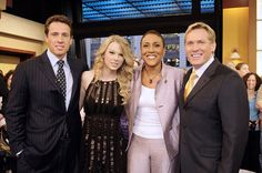good morning america - Chris, taylor swift, robin and sam