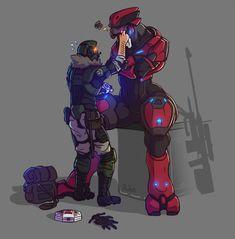 Odst Halo, Halo 2, Halo Funny, Halo Armor, Halo Reach Armor, Halo Cosplay, Character Art, Character Design, Halo Spartan