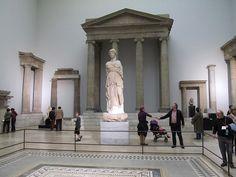 Athena Temple, Pergamon Museum, Berlin, Germany