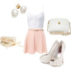 """""""Cute Summer Outfit"""" by stefaniemarie4 on Polyvore"""