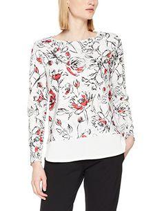 35df214711c98c Finejo Damen Elegant Blusen Tunika Blusenshirt Langarmshirt Rundhals Oberteile  T-Shirt mit Reißverschluss Vorne: - Swear…