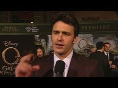 Oz: The Great and Powerful: James Franco World Premiere Interview --  -- http://wtch.it/Xlx7v