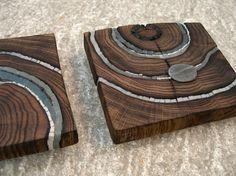 Suzanne Rippe - TABLEAU Wood Mosaic, Mosaic Art, Mosaic Glass, Mosaics, Mosaic Crafts, Mosaic Projects, Wood Projects, Driftwood Sculpture, Driftwood Art